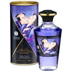 Orgasm Intensificat Ulei afrodisiac Shunga cu aroma fructe exotice 100ml