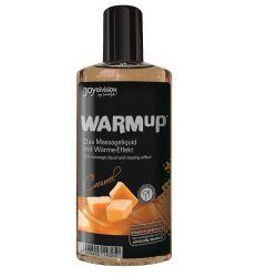 Gel 2 in 1 masaj&lubrifiere Bijoux 100 ml Ulei de masaj cu efect de incalzire caramel 150 ml