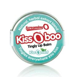 Balsam de buze Kissoboo cu aroma de menta
