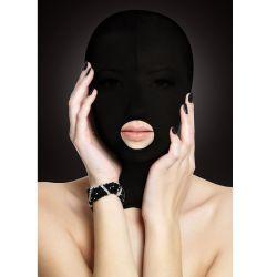 Masti Masca neagra tip cagula cu deschidere pentru gura
