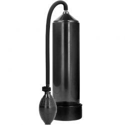Pompa Rookie pentru marirea penisului Pump Worx Pompa clasica pentru marirea penisului neagra